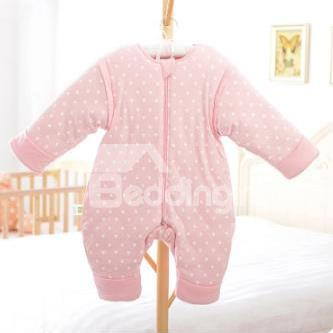 Super Romantic Cozy Pink Baby Sleeping Bag Feel Good
