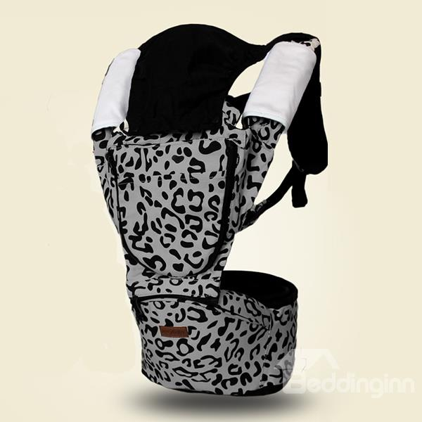 Fashionable Leopard Pattern Multi Functional Baby Hip Seat
